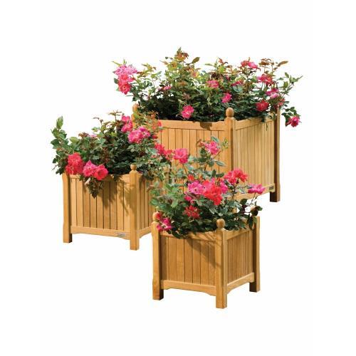 Oxford Garden - 5024 - Planters - 15 Inch 3-Piece Planter Set