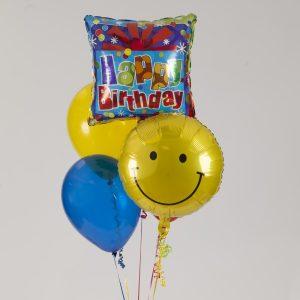 1-2-3 Birthday Balloon Bouquet - Nappanee - Bremen - Wakarusa - Goshen - Elkhart